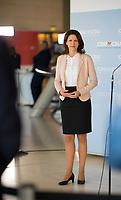 DEU, Deutschland, Germany, Berlin, 30.06.2020: Dr. Katja Leikert, stv. Vorsitzende der CDU/CSU-Bundestagsfraktion, bei einem Pressestatement im Deutschen Bundestag.