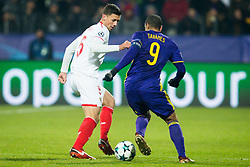 Clement Lenglet of FC Sevilla during Group E football match between NK Maribor and FC Sevilla in 6th Round of UEFA Champions League, on December 6, 2017 in Ljudski vrt, Maribor, Slovenia. Photo by Ziga Zupan / Sportida