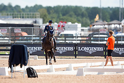 Scholtens Emmelie, NED, Apache<br /> World Equestrian Games - Tryon 2018<br /> © Hippo Foto - Sharon Vandeput<br /> 14/09/2018