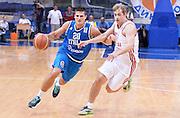 DESCRIZIONE : Qualificazioni EuroBasket 2015 Russia-Italia  <br /> GIOCATORE : Andrea Cinciarini<br /> CATEGORIA : nazionale maschile senior A <br /> GARA : Qualificazioni EuroBasket 2015 - Russia-Italia<br /> DATA : 13/08/2014 <br /> AUTORE : Agenzia Ciamillo-Castoria