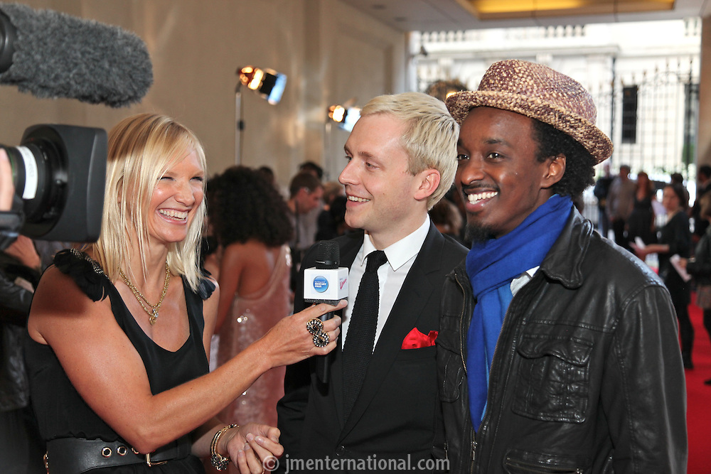 Jo Whiley and Mr Hudson