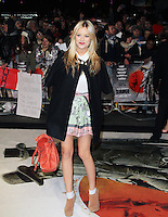 Laura Whitmore, Django Unchained UK film premiere, Empire Cinema Leicester Square, London UK, 10 January 2013, (Photo by Richard Goldschmidt)