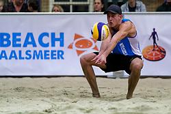 04-01-2020 NED: NK Beach volleyball Indoor, Aalsmeer<br /> Steven van de Velde
