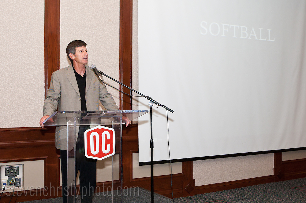 April 10, 2011: The Oklahoma Christian University Eagles Athletics host their annual end of the season banquet.
