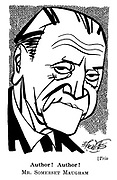 Trio. Author! Author! Mr. Somerset Maugham.