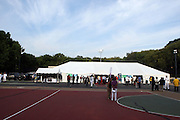 Atmosphere at the 42 Annual West Indian Day Carnival Breakfast Co-Sponsored by Hennessey at Lincoln Terrace Park Tennis Court on September 7, 2009 in Brooklyn, NY