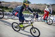 Men Elite #11 (FIELDS Connor) USA the 2018 UCI BMX World Championships in Baku, Azerbaijan.