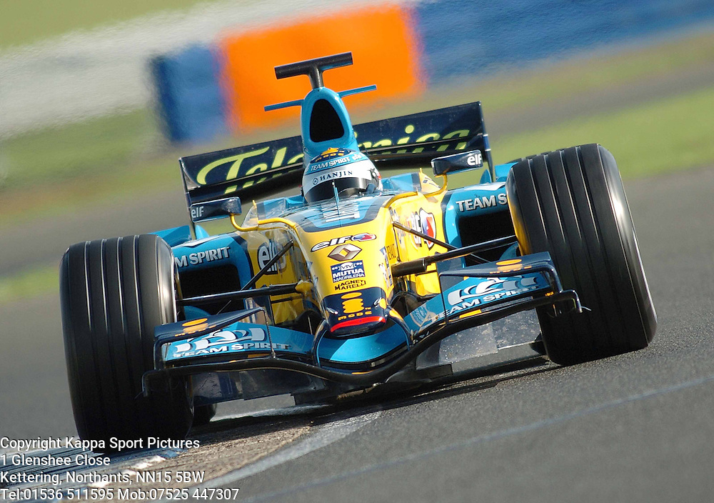 NELSON PIQUET Junior  Brazil,  Renault  F1 Formula One Test Silverstone 19th September 2006 :Photo Mike Capps