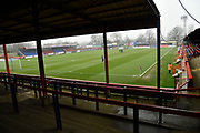 The EBB Stadium during the Vanarama National League match between Aldershot Town and Ebbsfleet United at the EBB Stadium, Aldershot, England on 20 January 2018. Photo by Alistair Wilson.
