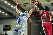 DESCRIZIONE : Campionato 2014/15 Dinamo Banco di Sardegna Sassari - Victoria Libertas Consultinvest Pesaro<br /> GIOCATORE : Miroslav Todic LaQuinton Ross<br /> CATEGORIA : Rimbalzo<br /> SQUADRA : Dinamo Banco di Sardegna Sassari<br /> EVENTO : LegaBasket Serie A Beko 2014/2015<br /> GARA : Dinamo Banco di Sardegna Sassari - Victoria Libertas Consultinvest Pesaro<br /> DATA : 17/11/2014<br /> SPORT : Pallacanestro <br /> AUTORE : Agenzia Ciamillo-Castoria / M.Turrini<br /> Galleria : LegaBasket Serie A Beko 2014/2015<br /> Fotonotizia : Campionato 2014/15 Dinamo Banco di Sardegna Sassari - Victoria Libertas Consultinvest Pesaro<br /> Predefinita :