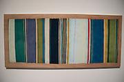 Brit McDaniel<br /> Timeline<br /> Pastel chalk, wood