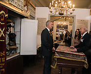 King Philippe visits the Jewish Museum in Brussels November2014