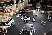 JAKARTA, INDONESIA, MAY 2013:<br /> Car Showroom at Grand Indonesia mall, opened 4 years ago, is one of the main attraction in Jakarta for young people and middle class family, May 2013.<br /> &copy; Giulio Di Sturco for Bloomberg Markets