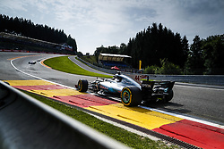 August 25, 2017 - Spa-Francorchamps, Belgium - Motorsports: FIA Formula One World Championship 2017, Grand Prix of Belgium, .#44 Lewis Hamilton (GBR, Mercedes AMG Petronas F1 Team) (Credit Image: © Hoch Zwei via ZUMA Wire)