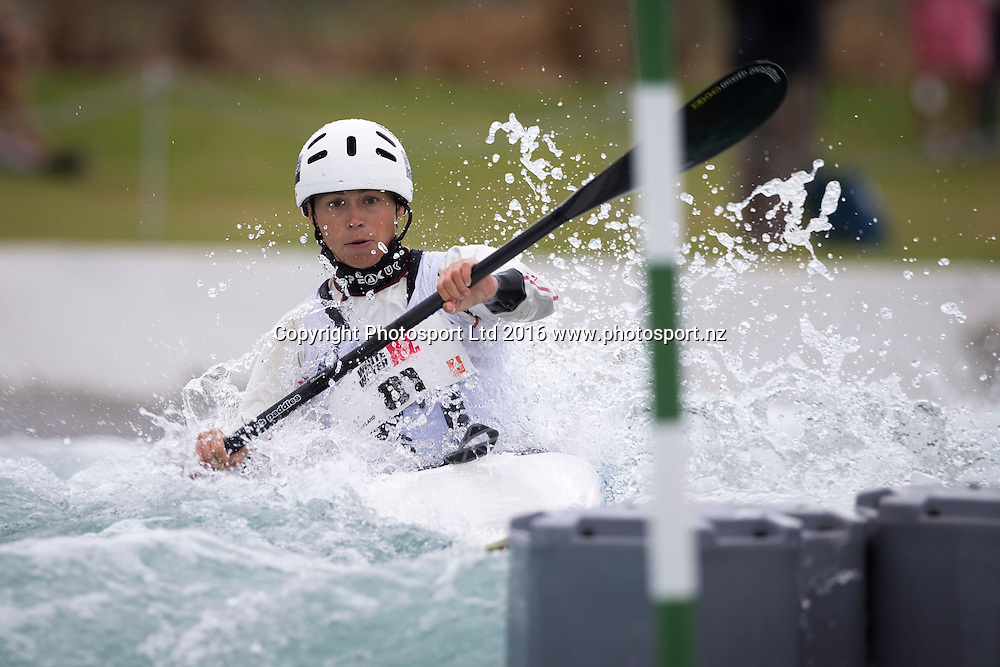 Katarina Macova of Slovakia in action, WhitewaterXL, Vector Wero Whitewater Park,  Auckland, New Zealand. Friday 25 November 2016. © Copyright Photo: www.Photosport.nz