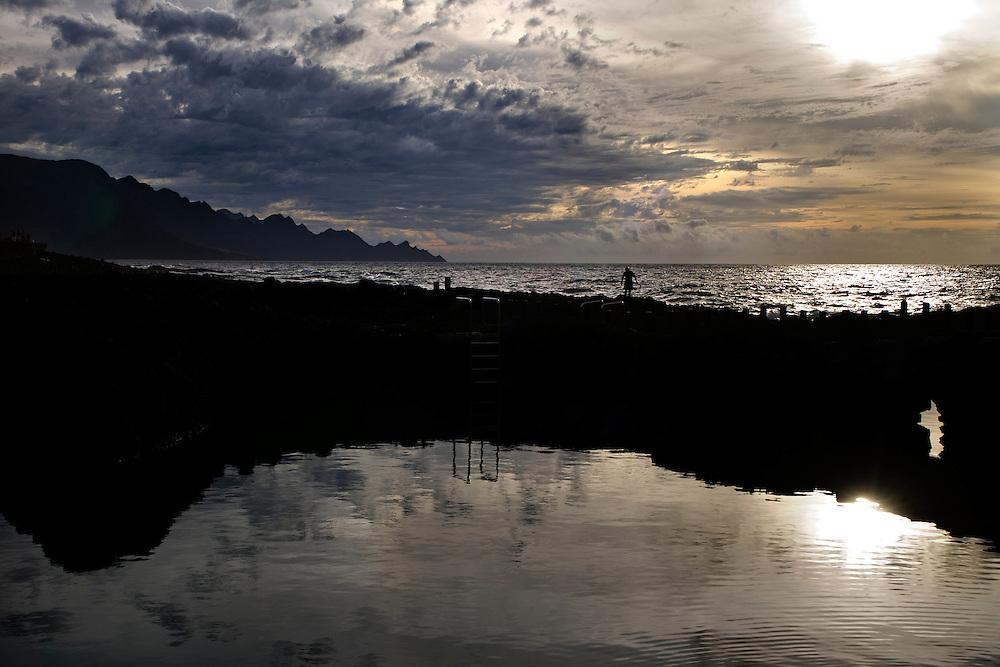 España. Islas Canarias. Gran Canaria. Agaete.Piscina natural en Agaete..©JOAN COSTA....