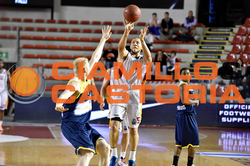 DESCRIZIONE : Eurocup 2014/15 Acea Roma Ewe Basket Oldenburg<br /> GIOCATORE : Brandon Triche<br /> CATEGORIA : tiro three points<br /> SQUADRA : Acea Roma<br /> EVENTO : Eurocup 2014/15<br /> GARA : Acea Roma Ewe Basket Oldenburg<br /> DATA : 12/11/2014<br /> SPORT : Pallacanestro <br /> AUTORE : Agenzia Ciamillo-Castoria /GiulioCiamillo<br /> Galleria : Acea Roma Ewe Basket Oldenburg<br /> Fotonotizia : Eurocup 2014/15 Acea Roma Ewe Basket Oldenburg<br /> Predefinita :