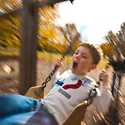 Luke Patterson in Cherokee Park