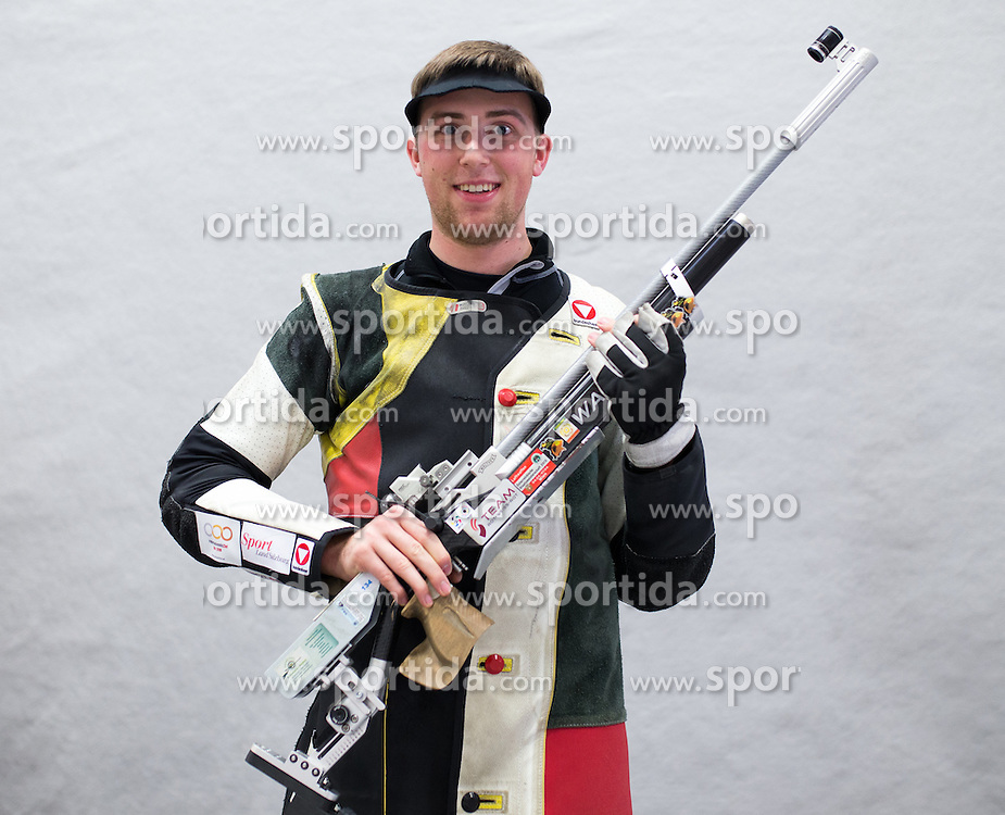 19.03.2016, Arena Kufstein, Kufstein, AUT, Österreichische Meisterschaften für Luftdruckwaffen, Herren, im Bild Gernot Rumpler (AUT) // Gernot Rumpler of Austria during the Austrian Mens Championships for airguns at Arena Kufstein in Kufstein, Austria on 2016/03/19. EXPA Pictures © 2016, PhotoCredit: EXPA/ Johann Groder