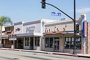 Town Center at Belmont Street in Bellflower California