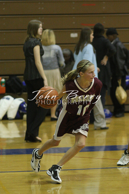Wetsel Girl's Basketball.vs Luray.12/4/2007..