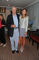 LORD DE RAMSEY and his daughter DAISY FELLOWES at a evening with fashion label Lilah held at Quo Vadis, 26-29 Dean Street, London W1 on 29th May 2013.