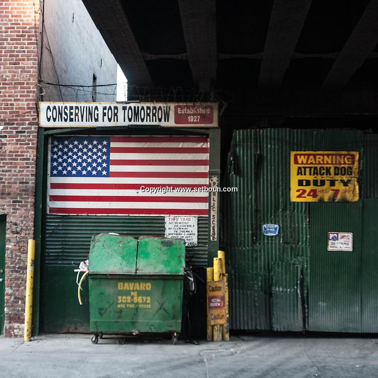 New York.  23rd street area  New York, Manhattan - United states   / architecture dans le quartier de la 23em rue  Manhattan, New York - Etats-unis