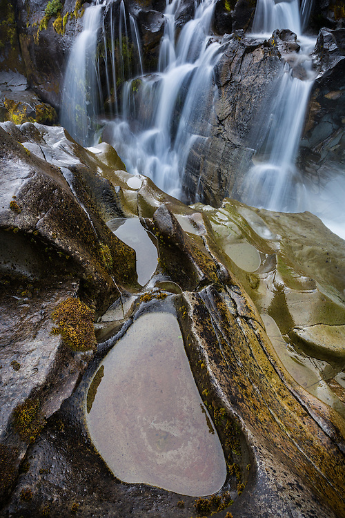 a shot of the intimate details found along the Bruar River in Iceland