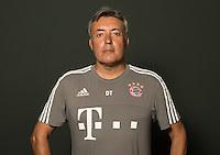 German Soccer Bundesliga 2015/16 - Photocall of FC Bayern Munich on 16 July 2015 in Munich, Germany: assistant-coach Domenec Torrent