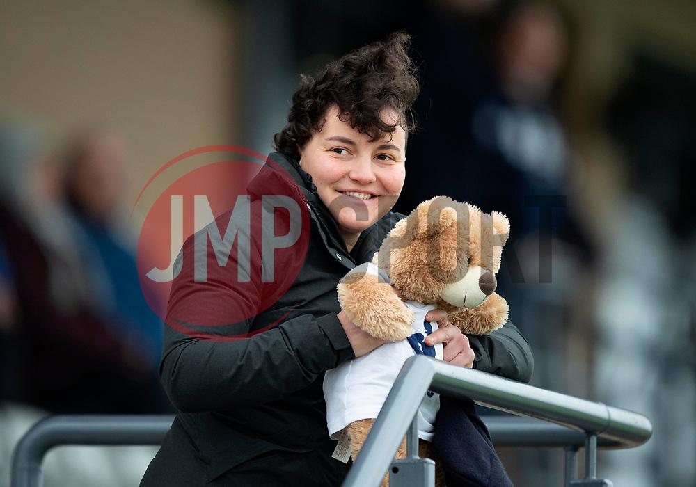 Bristol Bears Women supporter - Mandatory by-line: Paul Knight/JMP - 03/11/2018 - RUGBY - Shaftesbury Park - Bristol, England - Bristol Bears Women v Saracens Women - Tyrrells Premier 15s