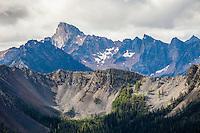 Tower Mountain in the North cascades, Washington, USA.