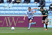 Coventry City Midfielder Joe Cole during the Sky Bet League 1 match between Coventry City and Rochdale at the Ricoh Arena, Coventry, England on 5 March 2016. Photo by Chris Wynne.