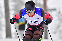 SHIN Eui Hyun, KOR, LW12 at the 2018 ParaNordic World Cup Vuokatti in Finland