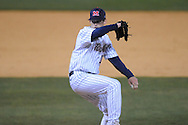 Mississippi's Jordan Cooper pitches vs. Austin Peay at Oxford-University Stadium in Oxford, Miss. on Tuesday, March 9, 2010.