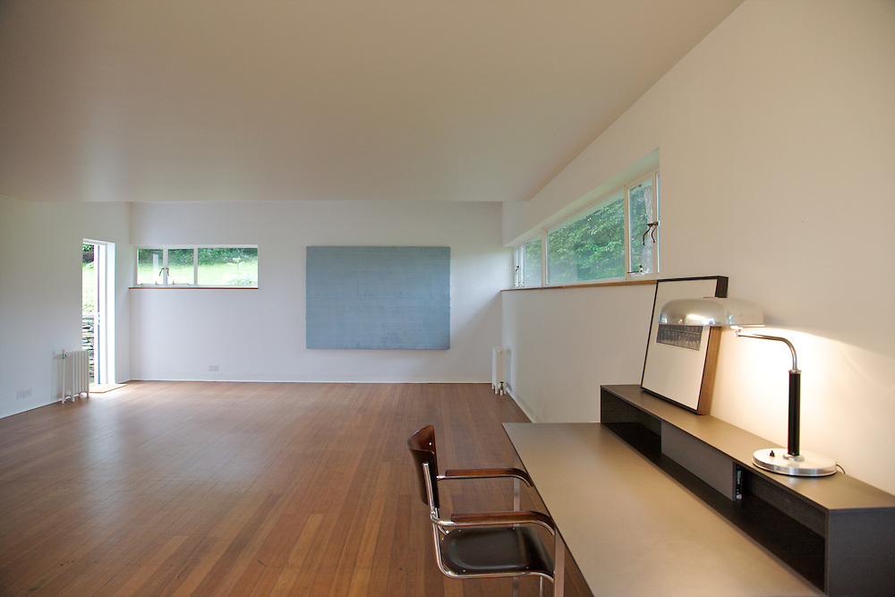 The studio at Warren House, Wayne McGregor's Dartington Estate home in Devon<br /> Vanessa Berberian for The Wall Street Journal