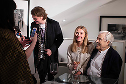 Iconic photographer Terry O'Neill dies aged 81 after battle with prostate cancer, seen here entertains celebrities at his book launch. Held at the Iconic gallery in Chelsea, London in November 2018. 17 Nov 2019 Pictured: Terry O'Neill. Photo credit: MEGA TheMegaAgency.com +1 888 505 6342