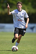Hawke's Bay United Luis Toomey in action in the Handa Premiership football match, Hawke's Bay v Wellington, Bluewater Stadium, Napier, Sunday, February 03, 2019. Copyright photo: Kerry Marshall / www.photosport.nz