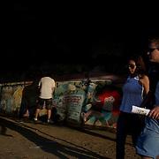 during the Fluminense FC V CR Vasco da Gama Futebol Brasileirao League match at the Maracana, Jornalista Mário Filho Stadium, Rio de Janeiro,  Brazil. 22nd August 2010. Photo Tim Clayton.