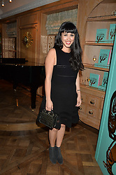 MELISSA HEMSLEY at a party hosted by Ewan Venters CEO of Fortnum & Mason to celebrate the launch of The Cook Book by Tom Parker Bowles held at Fortnum & Mason, 181 Piccadilly, London on 18th October 2016.