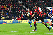 Goal - Harry Wilson (22) of AFC Bournemouth scores a goal to give a 1-0 lead during the Premier League match between Bournemouth and Brighton and Hove Albion at the Vitality Stadium, Bournemouth, England on 21 January 2020.