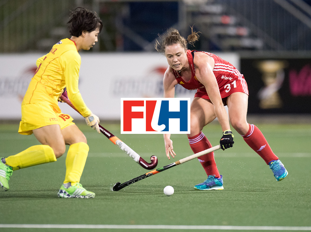 AUCKLAND - Sentinel Hockey World League final women<br /> Match id 10302<br /> ENG v China<br /> Foto:  Grace Balsdon <br /> WORLDSPORTPICS COPYRIGHT FRANK UIJLENBROEK