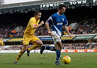Photo: Ashley Pickering.<br />Ipswich Town v Burnley. Coca Cola Championship. 02/12/2006.<br />Ipswich's Alan Lee on the ball