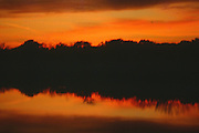 """Beautiful sunset with reflection on lake in Texas. NOTE: Click """"Shopping Cart"""" icon for available sizes and prices. If a """"Purchase this image"""" screen opens, click arrow on it. Doing so does not constitute making a purchase. To purchase, additional steps are required."""