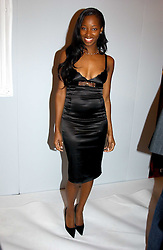 Singer JAMELIA at the Moet & Chandon Fashion Tribute 2005 to Matthew Williamson, held at Old Billingsgate, City of London on 16th February 2005.<br /><br />NON EXCLUSIVE - WORLD RIGHTS