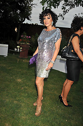 NANCY DELL'OLIO at The Ralph Lauren Sony Ericsson WTA Tour Pre-Wimbledon Party hosted by Richard Branson at The Roof Gardens on June 18, 2009