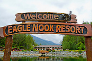 Eagle Nook Wilderness Resort and Spa is located on a remote area of Vancouver Island.