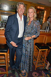 NICK & EIMEAR COOK at the Bedales Art & Design Party hosted by David Linley at Annabel's, 44 Berkeley Square, London on 30th June 2015.