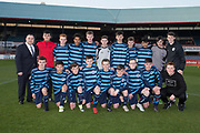 Monifieth High side who played Grove Academy in the Senior Schools Cup final at Dens Park, Dundee, Photo: David Young<br /> <br />  - &copy; David Young - www.davidyoungphoto.co.uk - email: davidyoungphoto@gmail.com