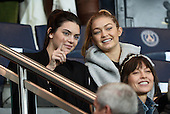 KENDALL JENNER and GIGI HADID - watch a football match in Paris