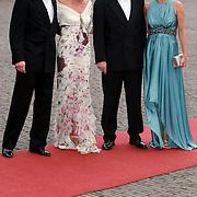 NLD/Apeldoorn/20070901 - Viering 40ste verjaardag Prins Willem Alexander, aankomst Constantijn en Laurentien, Friso en Mabel Wisse Smit